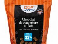 Mliječna couverture čokolada 33%, 1kg