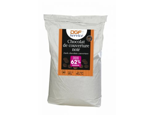 Tamna couverture čokolada 62%, 5kg