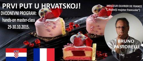 SLASTIČARSKI DVODNEVNI PROGRAM od titulovanog Francuskog slastičara: hands-on master-class u Zagrebu