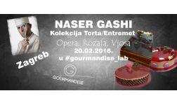 20.02.2016. - MASTER-CLASS - Francuske torte - Naser Gashi