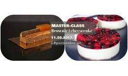 11.03.2017. Master-class BROWNIE & CHEESECAKOVI