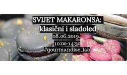 08.06.2019. - Svijet Makaronsa: klasični & sladoled