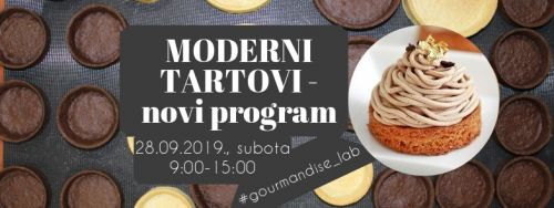 28.09.2019. - Moderni tartovi - novi program