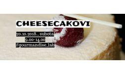 20.10.2018. - Cheesecake master-class (klasični, čokoladni, Oreo)
