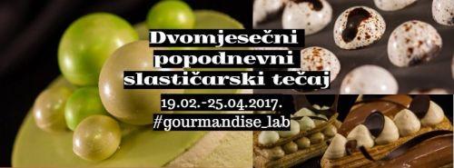 DVOMJESEČNI tečaj slastičarstva!!!!! 19.02.-25.04.2018.
