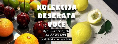 04.-06.03.2019. - Kolekcija deserata VOĆE