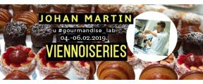 04.02.2019. – 06.02.2019. - Demo master-class by Johan Martin (Viennoiseries)