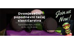 DVOMJESEČNI tečaj slastičarstva!!!!! 10.10.-07.12.2019.