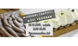 05.10.2019. - Moderni tartovi - novi program