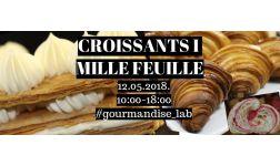 12.05.2018. - Viennoiserie française / Francuska peciva i Mille Feuille