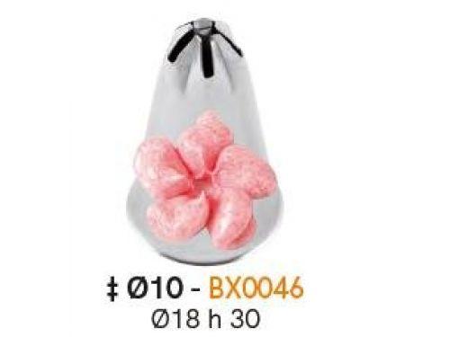 BX0046 Nastavak za slastičarsku vrećicu (INOX)