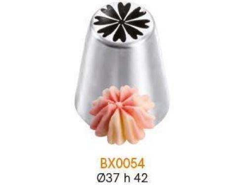 BX0054 Nastavak za slastičarsku vrećicu (INOX) - CVIJET