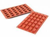 SF181 - TERRACOTTA NR. 30 MINI CAKES, silikonski kalup, 30X18mm, visina 16mm