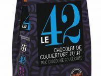 Mliječna couverture čokolada - LE 42, 42%kakao, 3kg