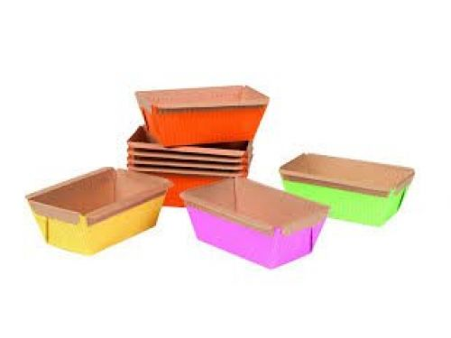 PAPIRNATE POSUDICE MINI CAKE, šarene, dimenzija 95x47mm, 48kom