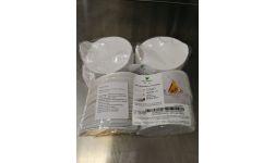 PODLOŽAK TONDO, bijeli, okrugli, dimenzija 85x96mm, visina 20 mm (pakiranje od 100kom)