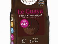 TAMNA COUVERTURE ČOKOLADA LE GUAYA, 64% KAKAO min., 3kg