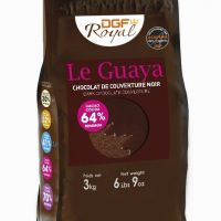 TAMNA COUVERTURE ČOKOLADA LE GUAYA, 64% KAKAO min., 1kg