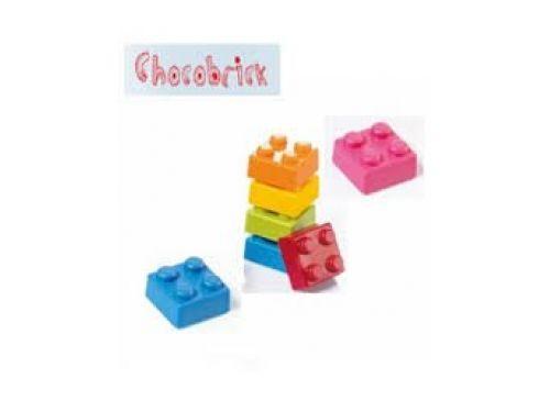 KALUP ZA ČOKOLADU LEGO, polikarbonatni, dimenzija 25x25mm, visina 18 mm