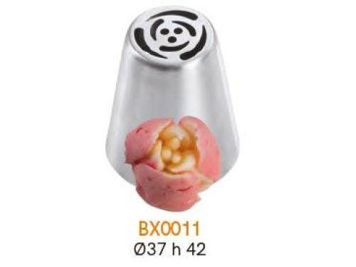 BX0011 Nastavak za slastičarsku vrećicu (INOX) - CVIJET