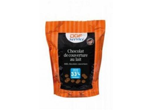 Mliječna couverture čokolada 33%, 10kg