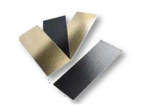 PODLOŽAK, pravokutni, crno/zlatni, 400x100mm, pakiranje od 50kom