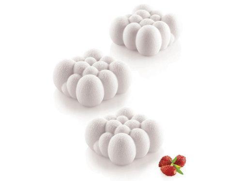 CLOUD (OBLAK) 120, bijeli silikonski kalup, dimenzija 71x71mm, visina 34mm