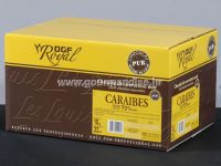 TAMNA COUVERTURE ČOKOLADA CARAIBES, 72% kakao min., 1kg