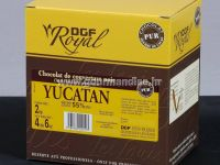 TAMNA COUVERTURE ČOKOLADA YUCATAN, 55% kakao min., 1 kg