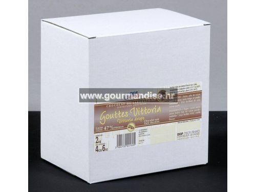 LABORATORIJSKA ČOKOLADA VITTORIA U OBLIKU GUMBIĆA – TAMNA ČOKOLADA, 47% kakao min., 1 kg
