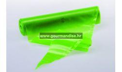 SLASTIČARSKE VREĆICE, zelene, 100 kom., 55cm