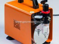 DECOMP7 - Kompresor (za Airbrush) za dekoriranje torti (4Atm)