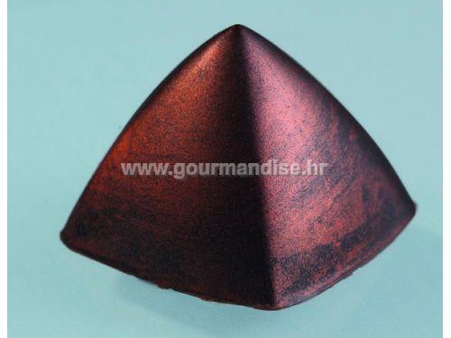 KALUP ZA ČOKOLADU, polikarbonatni, 30 kom., dimenzija 26x26mm, visina 20mm