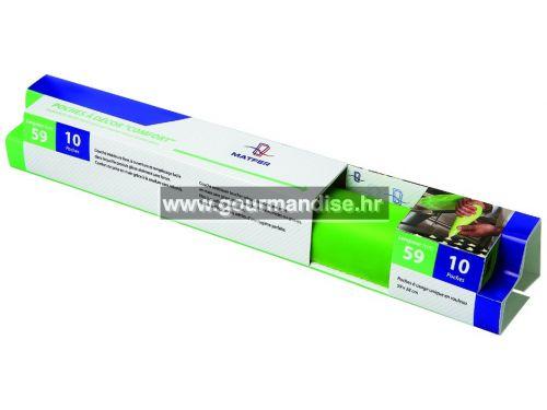 SLASTIČARSKE STANDARDNE VREĆICE, zelene, 10 kom, 59cm