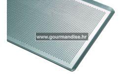 PEKARSKI PLEH, PERFORIRANI, aluminij, 400x300mm