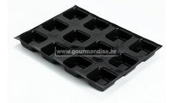 FLEXIPAN® KALUP ZA 12 SAVARINS CARRES, dimenzija 400x300mm