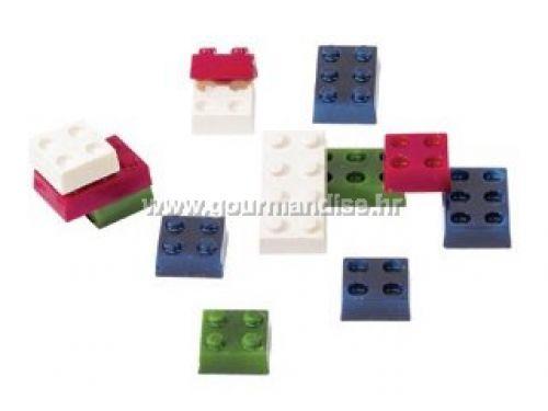 KALUP ZA ČOKOLADU - LEGO KOCKE, polikarbonat