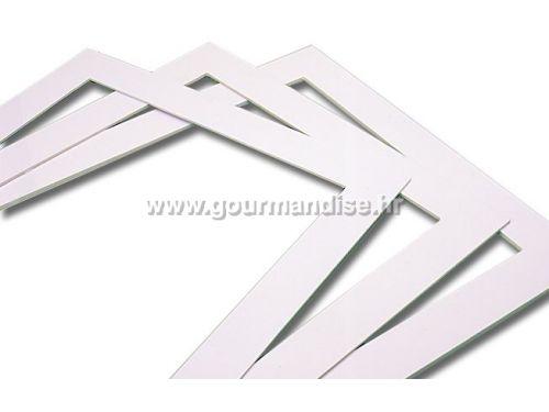 OKVIR ZA BISKVIT, 570x370mm, visina, 3mm
