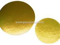 PODLOŽAK, okrugli, zlatni, 160mm
