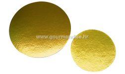 PODLOŽAK, okrugli, zlatni, 300mm