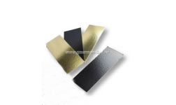PODLOŽAK, pravokutni, crno/zlatni, 240x100mm, 50kom.