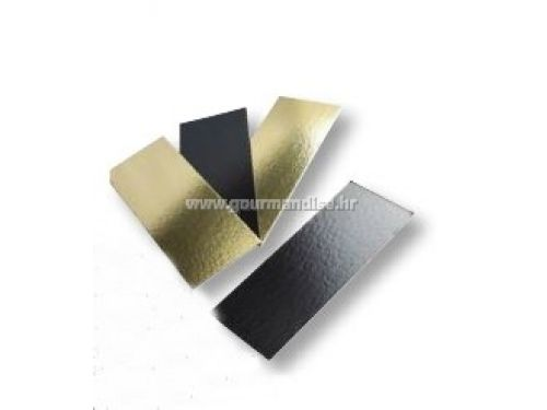 PODLOŽAK, pravokutni, crno/zlatni, 290x100mm, 50kom.
