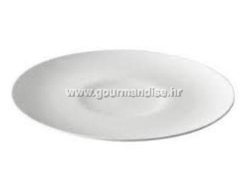 TANJUR SIMPLE, bijeli porculan, 300x28mm, baza 105mm