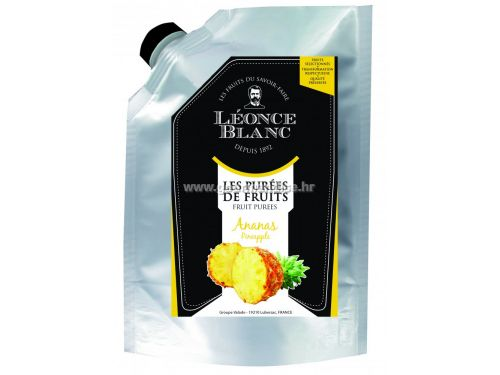 Pasterizirani pire od ananasa, 1kg - Léonce Blanc