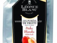 Pasterizirani pire od bijele breskve, 1kg - Léonce Blanc