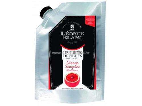 Pasterizirani pire od crvene naranče, 1kg - Léonce Blanc