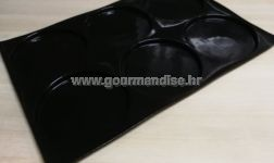 Flexipan® - okrugle šupljine 186mm, visina 12mm, 400x600