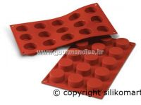 SF027 - TERRACOTTA silikonski kalup, NR. 15, PETITES-FOURS, dimenzija 40mm, visina 20mm