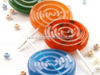 LOLLI POP - set od 2 silikonska kalupa, promjer 72mm, visina 12mm, terracotta