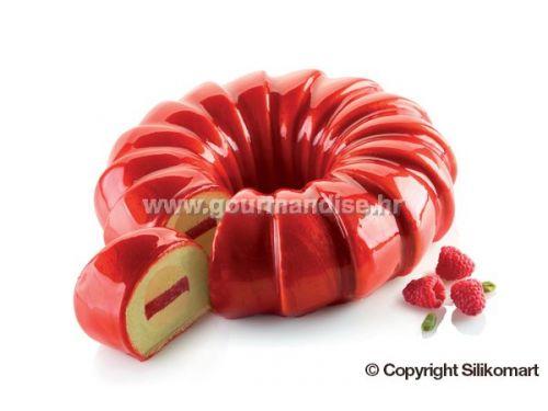 KIT RED TAIL -silikonski kalup, 240mm, visina 65mm + silikonski kalup, 213mm, visina 31mm + rezač